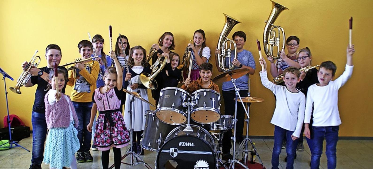 Der Nachwuchs des Musikvereins Eberfingen zeigte beim Schülervorspiel Können.   | Foto: suedkurier