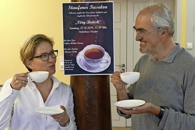 In Staufen gibt es jetzt auch Teekultur