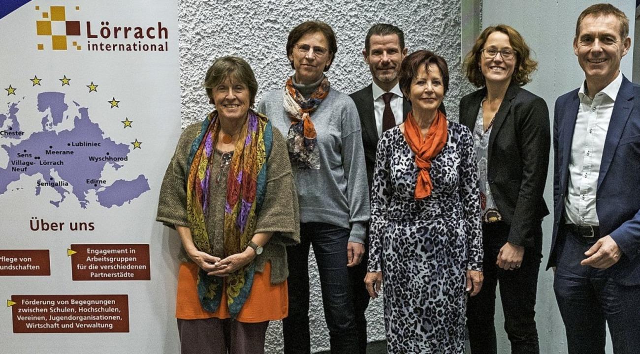 Christine Ableidinger-Günther (von lin...ltung) und Oberbürgermeister Jörg Lutz    Foto: Ansgar Taschinski