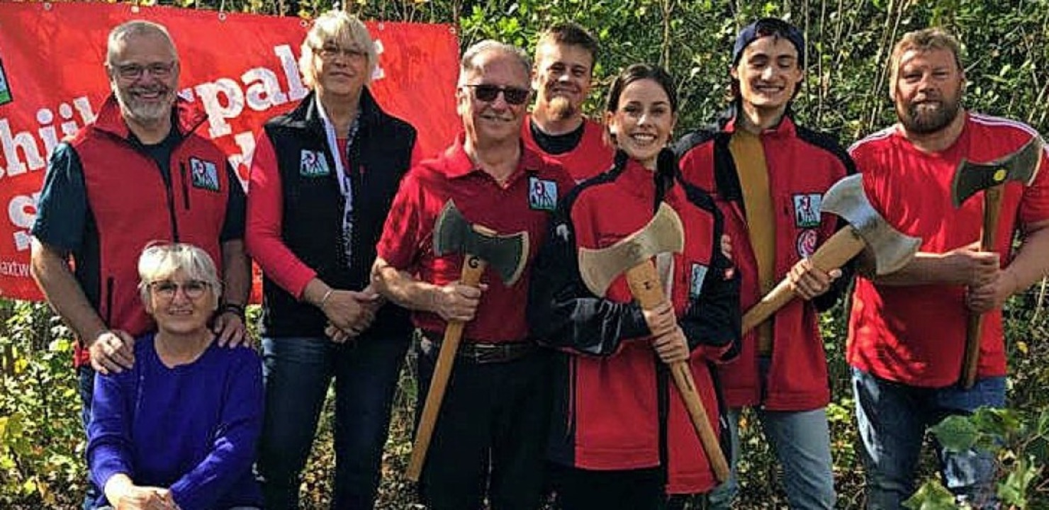 Das aktuelle Team der Schiibespalter   | Foto: privat