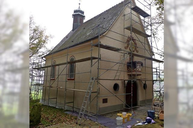 Die Marienkapelle wird renoviert