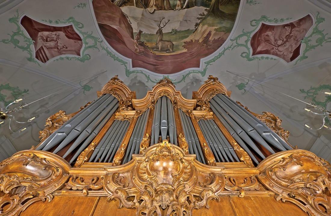 Geburtstagskind: Die Silbermann-Orgel in St. Landelin   | Foto: Karl Schlessmann