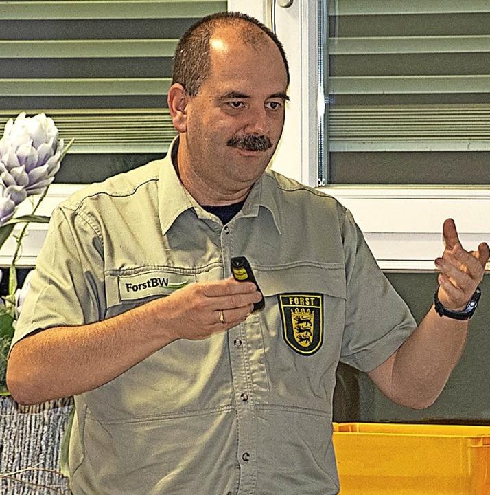 Marco Sellenmerten, Leiter des Forstbezirks Todtnau  | Foto: Paul Eischet
