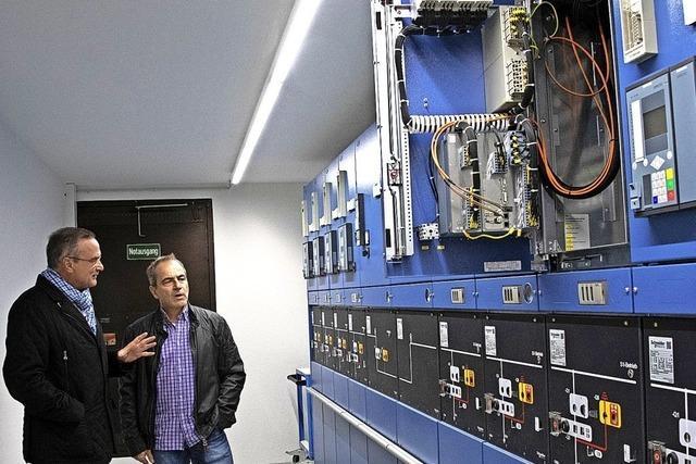 Moderne Technik soll Stromnetz sichern