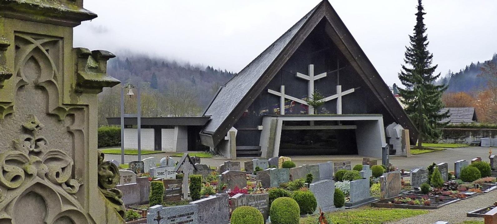 Die Gemeinde  Fröhnd muss wie andere K...önauer Friedhofs finanziell aufkommen.    Foto: Dirk Sattelberger