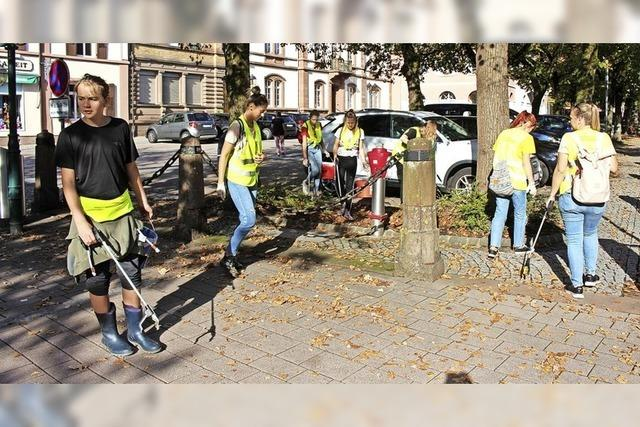 JuPa sagt Müllproblem den Kampf an