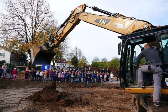 Der Bau des neuen Kindergartens in Schopfheim hat begonnen