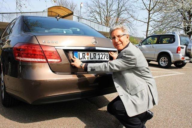 Lahrs Rathauschef Wolfgang G. Müller: Die 22-jährige Amtszeit in Bildern