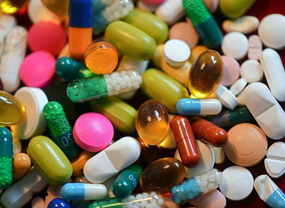 Eine starke Pharmaindustrie stützt die...chaftliche Entwicklung in der Schweiz.  | Foto: Matthias Hiekel