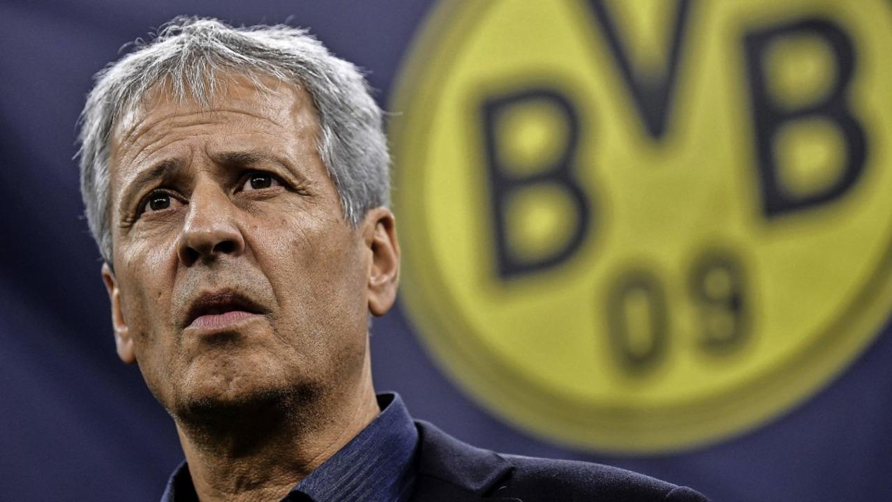 In der Kritik: Dortmunds Trainer Lucien Favre    Foto: MARCO BERTORELLO (AFP)