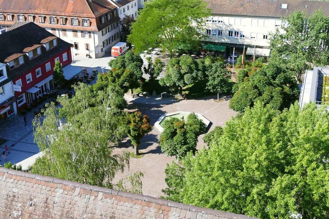 Der Ensembleschutz der städtischen Beb...Kastanienpark hat weiterhin Bedeutung.  | Foto: Ingrid Böhm-Jacob