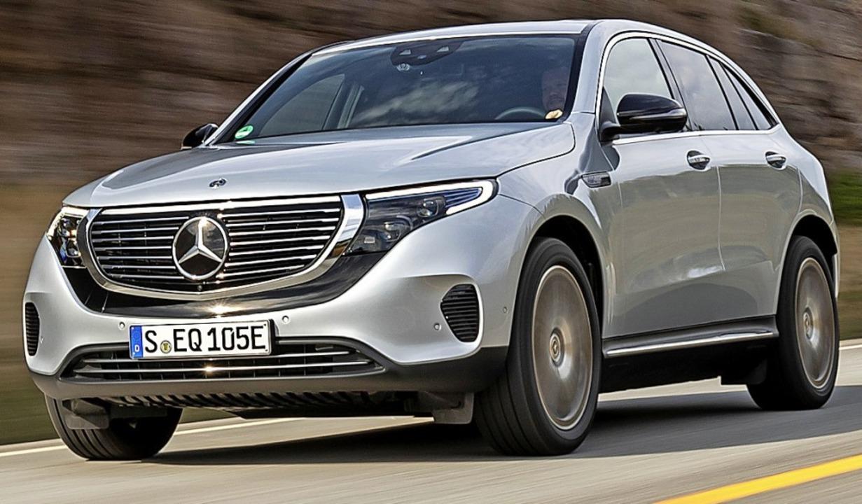 Auch der Stromer ist sofort als Mercedes erkennbar.  | Foto: Daimler