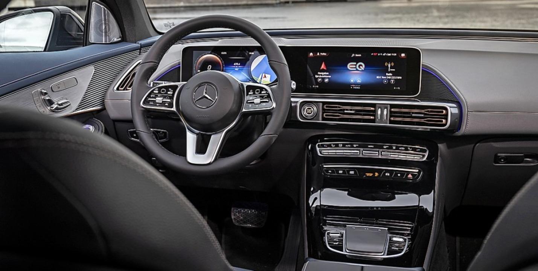 Digitale Instrumente im Elektro-Auto – was sonst?  | Foto: Daimler