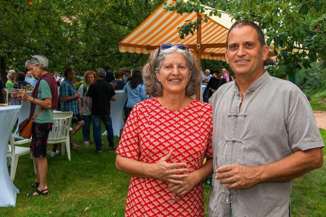 Die Macher des Symposiums: Erika und Anno Sieberts  | Foto: Olaf Michel
