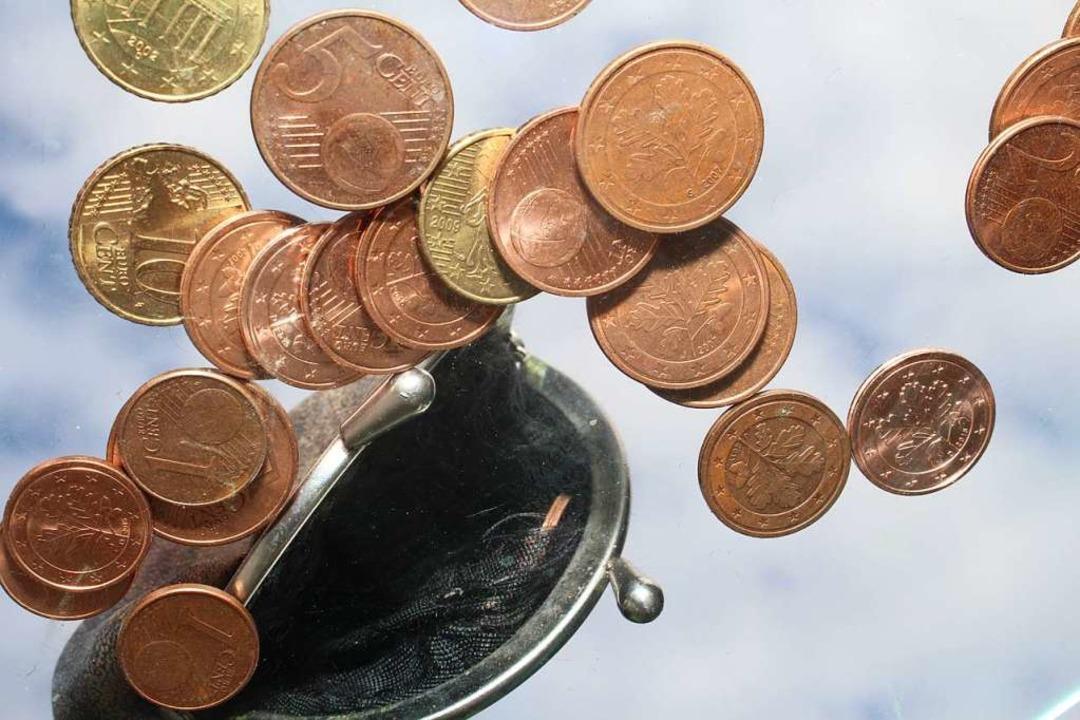 Weil das nötige Kleingeld fehlt,  muss...r einen strengen Sparkurs einschlagen.  | Foto: Anja Bertsch