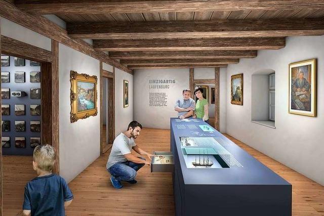 Museum Schiff kommt in Fahrt