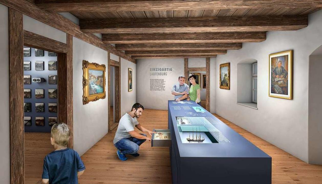 Das Museum Schiff im schweizerischen L...allerdings dem Projekt noch zustimmen.    Foto: privat