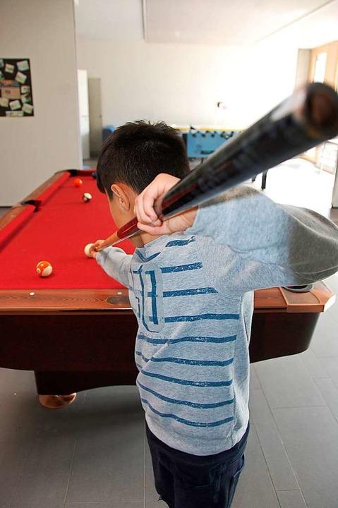 Die Betreuung der Jugendlichen in den ...ilen Arbeit ist eine wichtige Aufgabe.    Foto: Herbert Frey