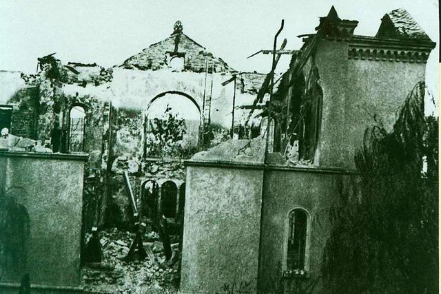 Wer war der Synagogen-Brandstifter Walter Gunst?