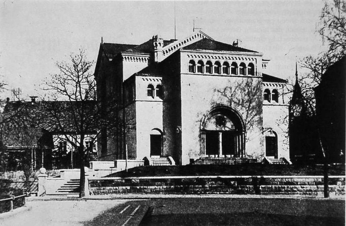 Die Synagoge um das Jahr 1925.  | Foto:  privat