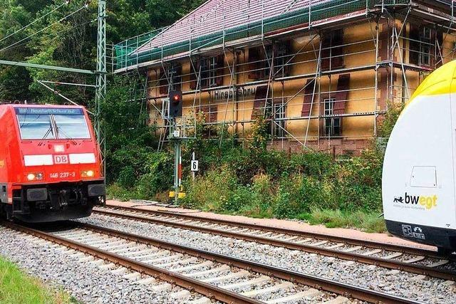 Wird der Geisterbahnhof im Höllental saniert?