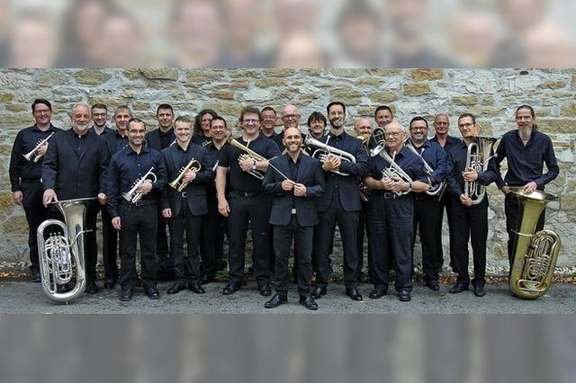 Blasmusik mit dem Ensemble Eventus in Efringen-Kirchen