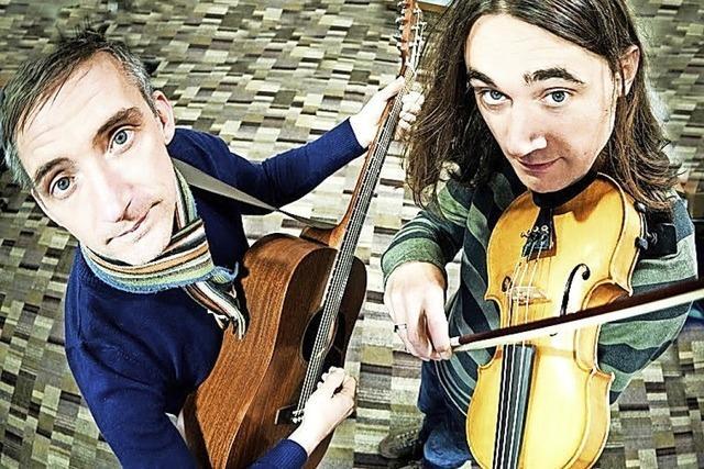 Konzert mit der Folkband Broom Bezzums in Badenweiler