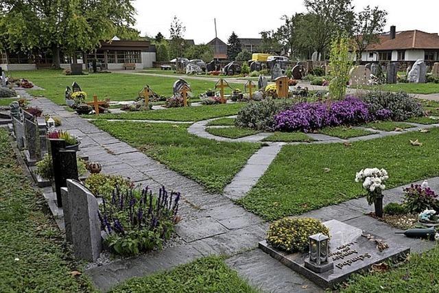 Rat beschließt neues Urnenfeld