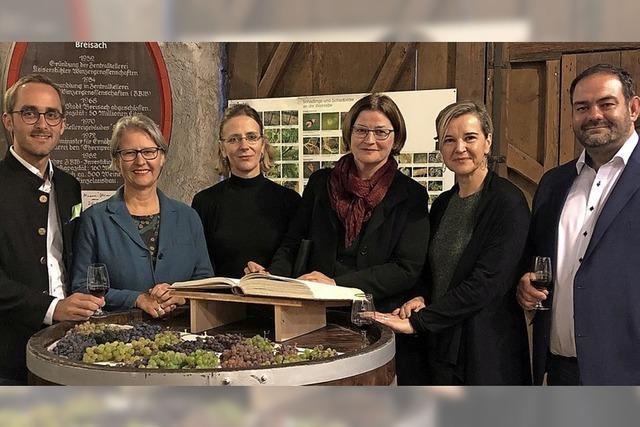 Hebammenpräsidium war in Vogtsburg zu Besuch