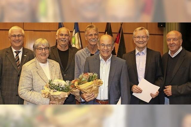 Anerkennung für jahrelanges Engagement in Stadt- und Ortschaftsrat