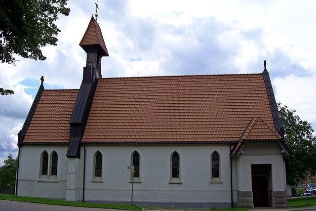 Kapelle wird wieder hergerichtet