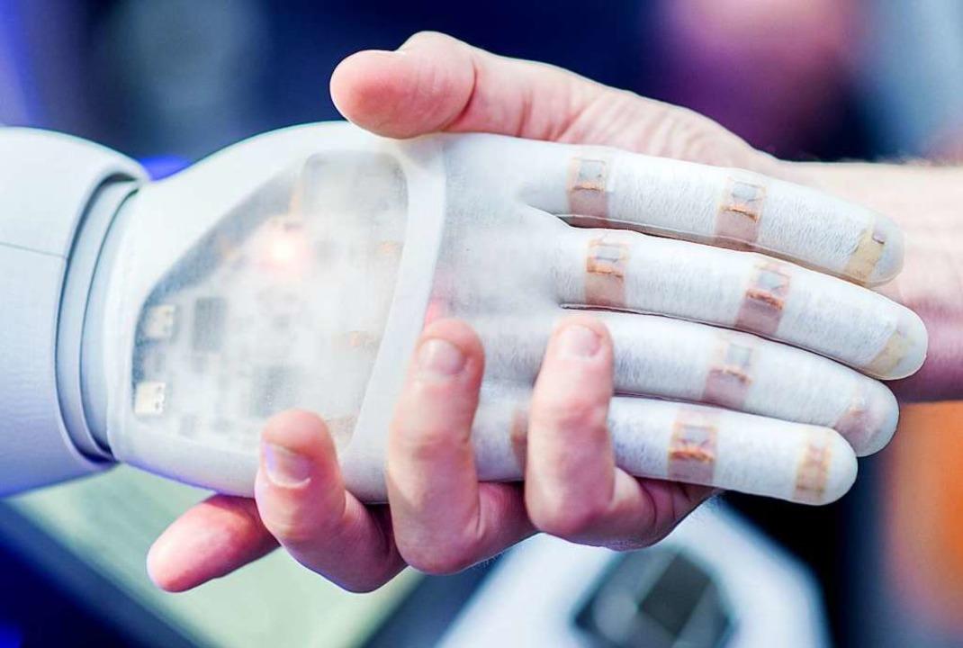 Segen oder Fluch? Künstliche Intelligenz   | Foto: Hauke-Christian Dittrich (dpa)