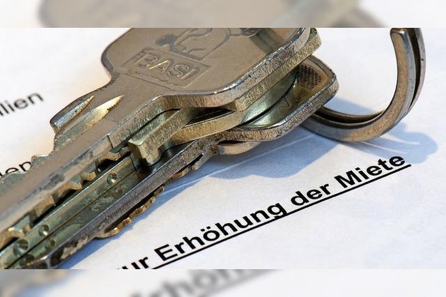 So funktioniert die Mietpreisbremse in drei Kommunen westlich von Freiburg