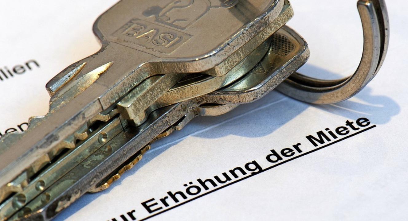 Hohe Mieten gibt es auch  in nichtstäd...el, um  den Mietenanstieg einzudämmen.  | Foto: Arno Burgi