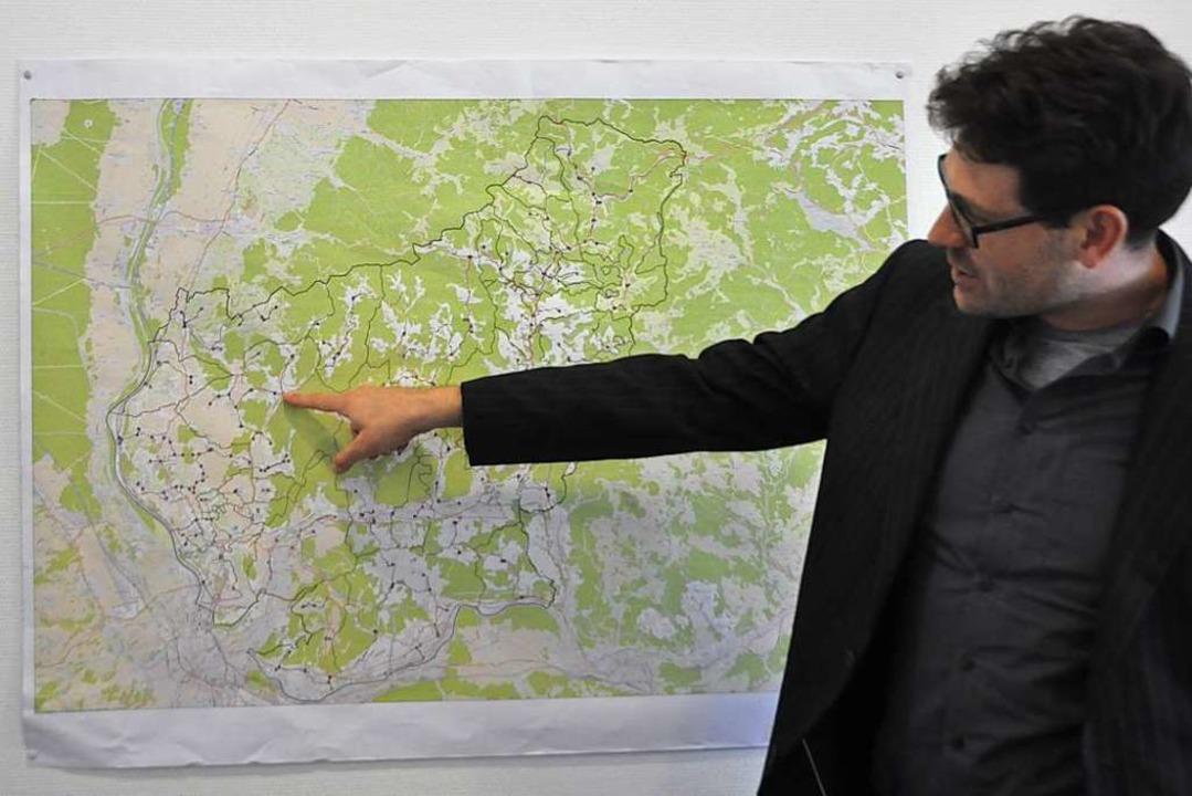 Paul Kempf, Geschäftsführer des Zweckv...itgleich bis zu 30 Bauprojekte laufen.    Foto: Daniel Gramespacher