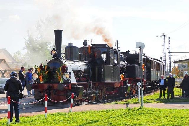 Das Chanderli feiert am Samstag 50 Jahre Museumsbahnbetrieb