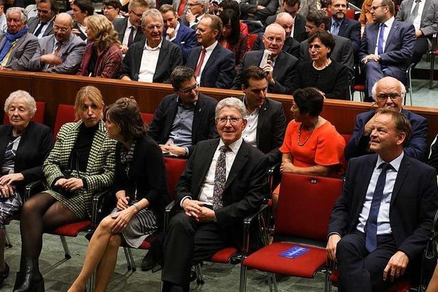 Oberbürgermeister Wolfgang G. Müller wird Ehrenbürger der Stadt Lahr
