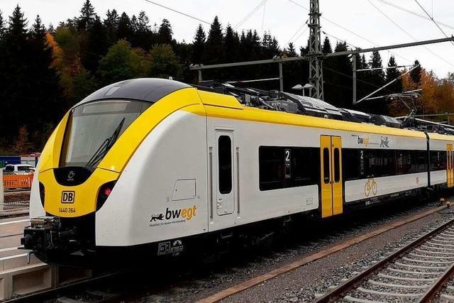 Generalprobe auf neuer Bahn zwischen Kaiserstuhl und Hochschwarzwald