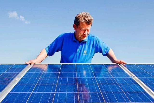 Die Region am Hochrhein hat in Sachen Photovoltaik Rückstand