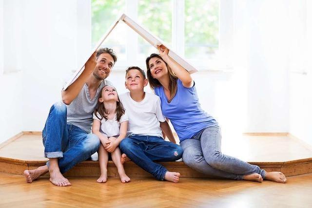 Auch in Hartheim gibt's den Bauland-Bonus für Familien mit Kindern