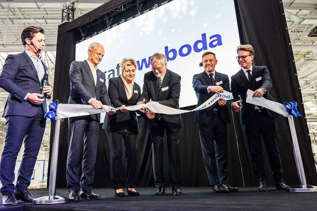 Feierliche Eröffnung der neuen Produkt...at (Gesellschafter Franz Morat Group)     Foto: Morat Swoboda Motion