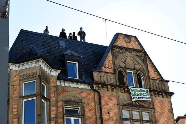 Besetztes Haus in Freiburg-Wiehre geräumt