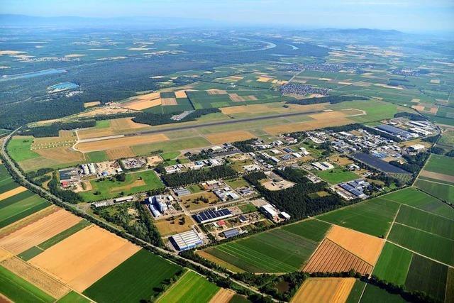 Leiser fliegen über dem Gewerbepark Breisgau