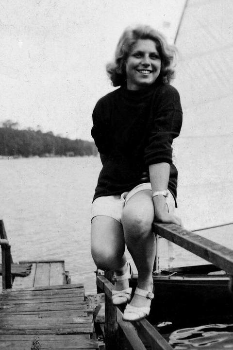 Die Unbeschwertheit trügt: Stella Goldschlag Ende der 1930er-Jahre bei Berlin  | Foto: Landesarchiv Berlin, C Rep. 375-01-07, Nr. 1.