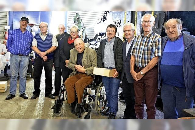 Verlässliche Freunde der Kandertalbahn