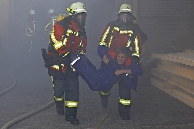 Feuerwehr überzeugt auch in der Praxis