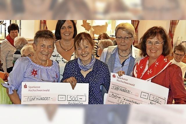 Spenden für Malteser und Essenstreff