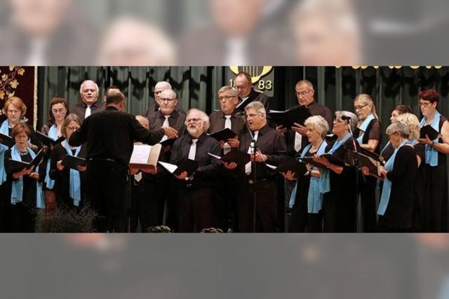 Konzert des Hofweirer Gesangvereins