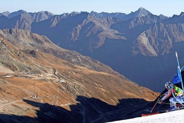 Deutscher Fehlstart auf dem Gletscher