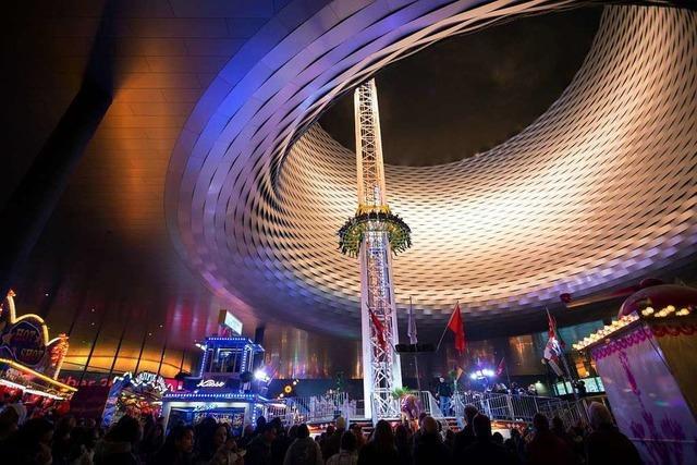 Die Herbstmesse in Basel lockt Adrenalin-Junkies und Flanierfreunde